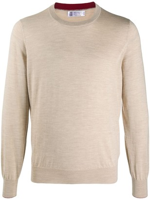 Brunello Cucinelli Regular-Fit Crew-Neck Pullover