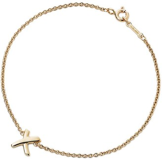 Tiffany & Co. Paloma's Graffiti X bracelet in 18ct gold, medium