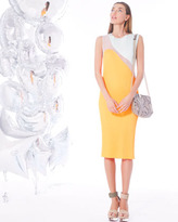 Stella McCartney Colorblock Plisse Dress