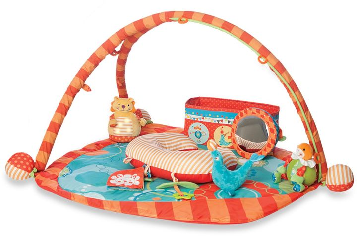 Boppy Flying Circus Play Gym with Collapsible Toy Box