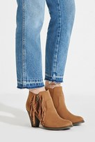 Forever 21 FOREVER 21+ MIA Linsie Fringe Booties