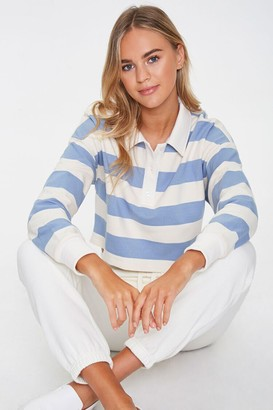 Forever 21 Striped Rugby Shirt