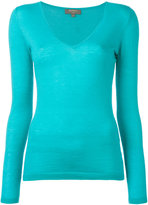 N.Peal cashmere superfine V-neck jumper - women - Cashmere - XS