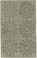 Surya Bombay BST-428 Contemporary Hand Tufted 100% New Zealand Wool Geometric Area Rug