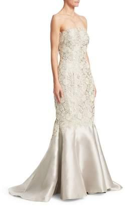 Morley Helen Lace Mermaid Gown