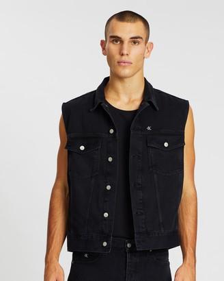 Calvin Klein Jeans One Oversized Denim Vest