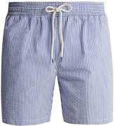 Polo Ralph Lauren Striped cotton-blend seersucker swim shorts