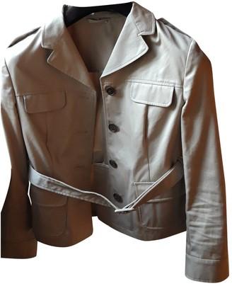 Miu Miu Beige Cotton Jacket for Women