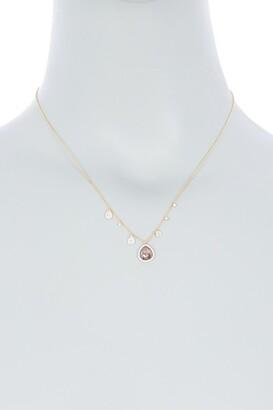 Meira T 14K Yellow Gold Rough Diamond Pendant & Pave Diamond Necklace