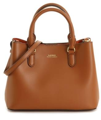 Lauren Ralph Lauren Marcy II Leather Mini Satchel