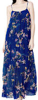 Ghost Aude Seline Bloom Maxi Dress, Blue