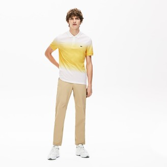 Lacoste Men's Made in France Cotton Pique Regular Fit Polo Shirt