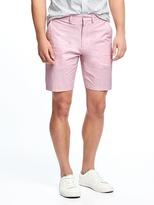 "Old Navy Slim Signature Built-In Flex Shorts for Men (9"")"