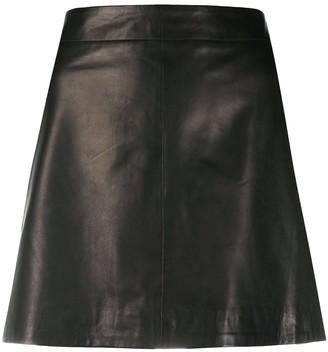 P.A.R.O.S.H. Biker Mini Skirt