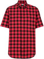 Maison Margiela short sleeved check shirt