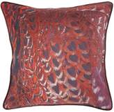 Biba Feather print cushion