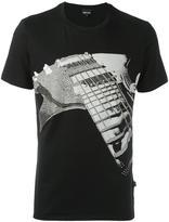 Just Cavalli guitar print T-shirt