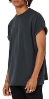 Topman Men's Short Sleeve Sweatshirt