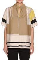 Piazza Sempione Graphic-Print Kimono Shirt