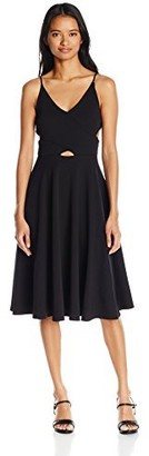 Soprano Juniors Women's Cut Out Cami Midi Dress