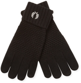 Fred Perry Men's Pique Ribbed Gloves