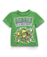 Freeze Green TMNT 'Heroes in a Half Shell' Tee - Toddler & Boys