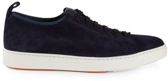 Santoni Clean Icon Inhabit Stretch Sneakers