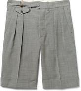 Wooster + Lardini Wooster + Lardini - Puppytooth Wool Shorts