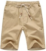 JY FASHION Men's Classic Cargo Pants Beach Shorts
