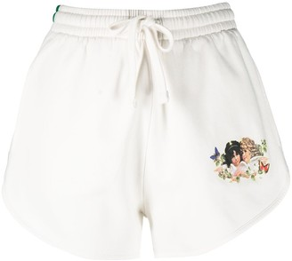 Fiorucci Woodland high-waisted shorts