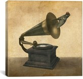 iCanvas 'Vintage Songbird - Terry Fan' Giclee Print Canvas Art