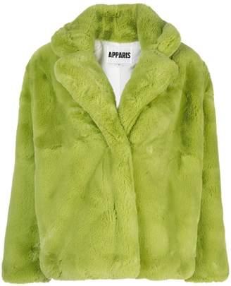 Apparis Manon short faux-fur coat