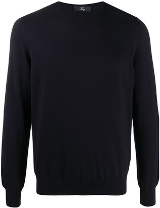 Fay Casual Crew Neck Jumper