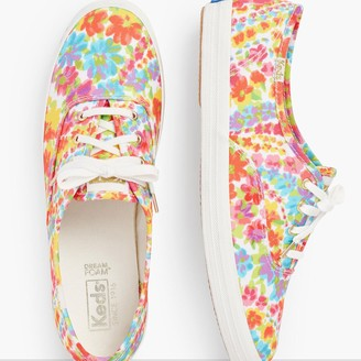 Talbots Keds Champion Sneakers Exclusive Floral