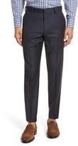 J.Crew Men's Ludlow Flat Front Solid Wool Trousers