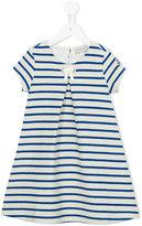 Moncler striped dress - kids - Cotton/Acrylic/Polyester - 2 yrs