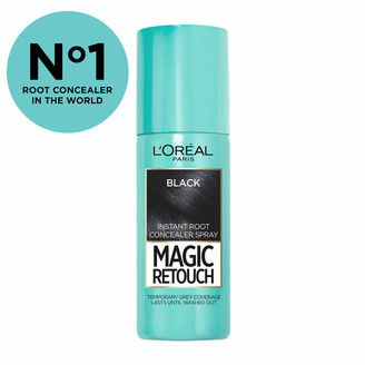 L'Oreal Paris Magic Retouch Temporary Instant Root Concealer Spray 75ml (Various Shades) - Black