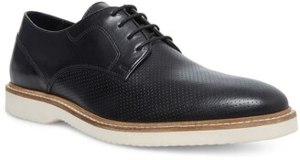 Steve Madden Whitby Perforated Leather Blucher