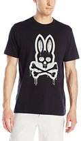 Psycho Bunny Men's Dripping Bunny T-Shirt