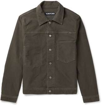 Tom Ford Cotton-Moleskin Trucker Jacket