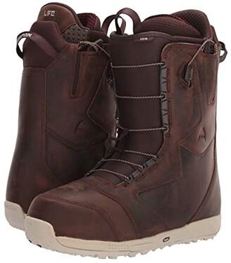 Burton Ion Leather Snowboard Boot (Deep Cognac) Men's Cold Weather Boots