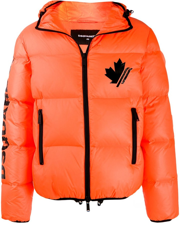 DSQUARED2 Arctic Rave puffer coat