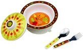 SugarBooger by O.R.E. Suction Bowl Set - My Garden