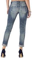 Miss Me Women's Basic Cuffed Skinny Jean