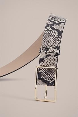 Witchery Eleanor Print Belt