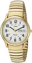 Timex Men's T2N092 Easy Reader Extra-Long Stainless Steel Expansion Band Watch