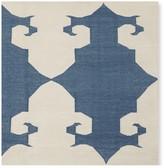 Williams-Sonoma Williams Sonoma Medallion Flatweave Rug, Blue