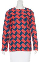Diane von Furstenberg Short Patterned Coat