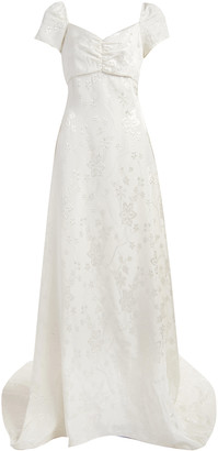 Markarian Cypress Empire Waist Gown