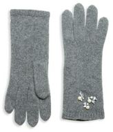 Portolano Jeweled Cashmere Gloves